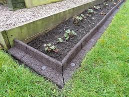 brilliant ideas lawn border edging diy garden edging crafts home regarding diy concrete landscape edging diy concrete landscape edging