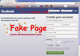 Hack Facebook Account Page phishing Using Techcommute Fake Login Any