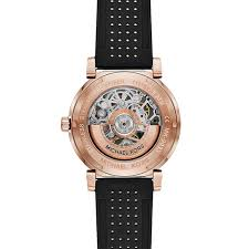 michael kors rose gold tone and black silicone automatic watch michael kors rose gold tone and black silicone automatic watch
