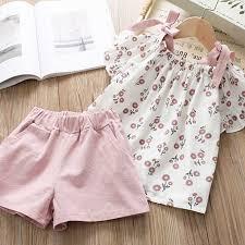 Girls Clothing Sets <b>New</b> Style <b>Summer Children</b> Clothes Cute Plaid ...