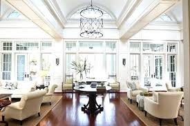 high ceilings chandeliers contemporary
