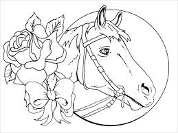 9 Horse Coloring Pages Free Pdf Document Download Free