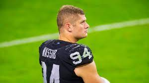 Raiders' Carl Nassib comes out as first active gay NFL player