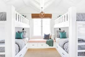 window seat between built in bunk beds