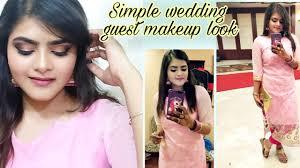 simple wedding guest makeup black and gold smokey eyes collaboration video hindi ria das beauty