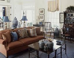 Carole Radziwillu0027s New York Sanctuary  Thou SwellSilver And Blue Living Room