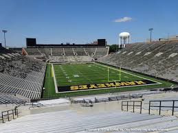 Kinnick Stadium View From Endzone 218 Vivid Seats