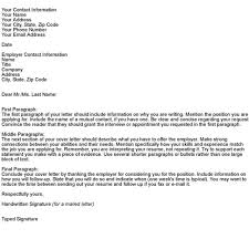 What Does A Good Cover Letter Contain What Should A Good Cover