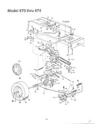 riding lawn mower parts diagram. mtd lawn tractor parts model 13a0670g088 sears partsdirect also craftsman riding mower diagram n