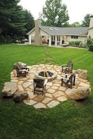 patio with fire pit. Love This Fire Pit. More Patio With Pit B