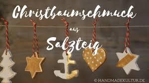 Christbaumschmuck Aus Salzteig