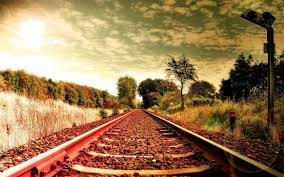 cool outdoor backgrounds. Rail Road Track Outdoor Fields Nature Background Images - 1228x768 Cool Backgrounds A