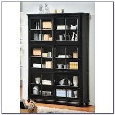 surprising design ideas black bookcase with glass doors 33 jpg in bookcases prepare 8