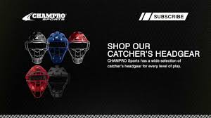 Easton Catchers Gear Size Chart Champro Sports Sizing Guide Catcher S Head Gear