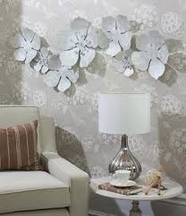 projects idea white metal wall art room decorating ideas v sanctuary com 5 flower chain hand on white metal flower wall art with white metal wall art fallow fo