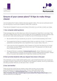 Vocational Careers List Unsure Of Your Career Plans 10 Tips To Make Things Clearer