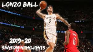 Lonzo Ball 2019-20 Season Highlights ...