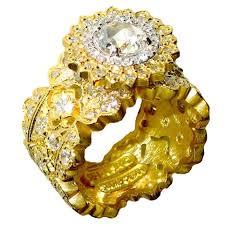 Stambolian Design Stambolian Diamond Gold Openwork Ring At 1stdibs