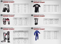 Venum Shorts Size Chart 76 High Quality Venum Rashguard Size Chart