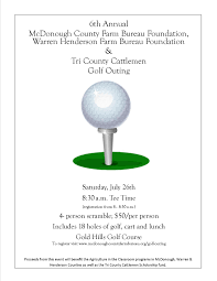 Golf Outing Flyer Info 2014