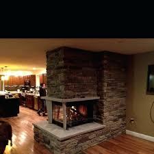 3 sided gas fireplace canada napoleon modern google australia