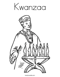 You can check out other coloring pages related to holidays, like halloween or christmas. Kwanzaa Coloring Page Twisty Noodle