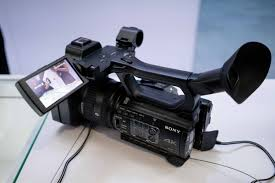 Video Camera Led Light Price In India Sony Nx200 4k Camcorder Ibc 2018 Newsshooter