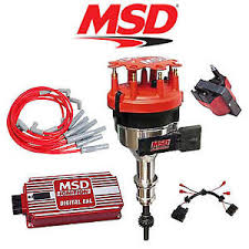 msd ignition kit digital 6al distributor wires coil harness 86 93 image is loading msd ignition kit digital 6al distributor wires coil