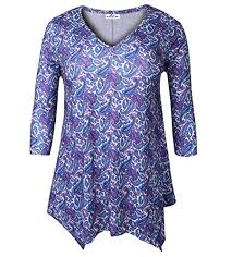 Zerdocean Size Chart Clothing Shoes Jewelry Zerdocean Womens Plus Size Printed
