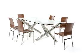 quartz top dining table. Modrest Quartz Modern Rectangular Glass Dining Table - L\u0027angolo Furniture \u0026 Art Top P