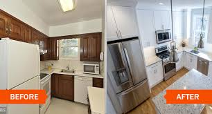 Kitchen Remodeling Before And After Kitchen Remodeling In Nova Traditional Modern Kitchens