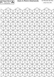 how to design a quilt on graph paper this letter sized hexagon graph paper is spaced with hexagons a