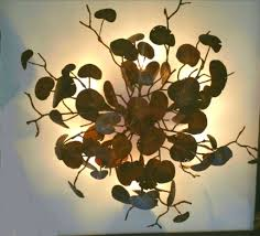 organic lighting fixtures. Ed Koehler Designs Ceiling Lighting Of With Branch Light Fixture Inspirations Organic Fixtures