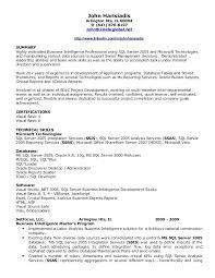 business intelligence developer resume sample download unusual design bi  template