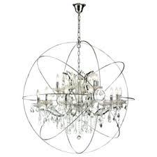 gold orb chandelier gold orb chandelier large orb iron crystal chandelier ideas large gold orb chandelier