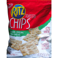 Ritz Crackers Nutrition Chart Calories In Ritz Toasted Chips Sour Cream And Onion From