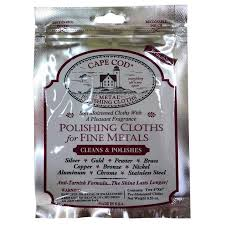 goods america cape cod gold and silver copper jewelry watch metal to scratch polishing cloth rub