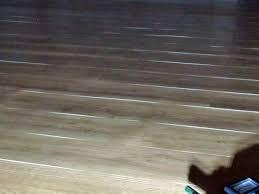 curling lifting vinyl plank edges