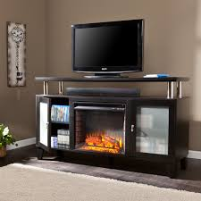 electric fireplace tv stand black inspirational home decorating