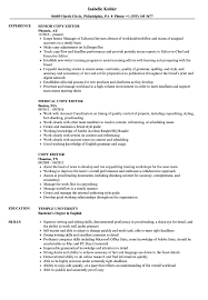 Resume Copy Copy Editor Resume Samples Velvet Jobs 55