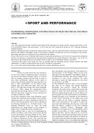 Usatf Metric Conversion Chart Pdf The Effect Of Development Of Muscular Balance On Some