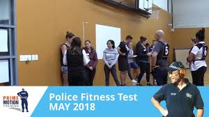victoria police fitness test may 2018 prime motion