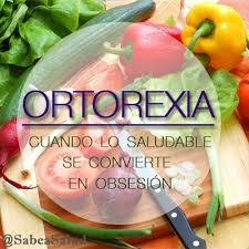 Resultado de imagen para ortorexia