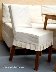 ana white drop cloth parson chair slipcovers diy projects for parsons chairs idea 10