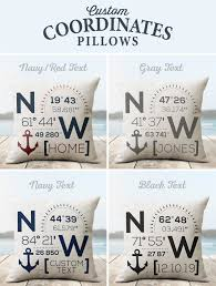 Beach Design Pillows Custom Beach Lake House Throw Pillow Nice Aft
