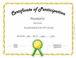 Free Printable Perfect Attendance Certificate Template Beauteous Fun Certificate For Kids New Pinterest Certificate Free