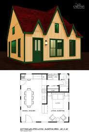 american gothic tiny house floor plan for building your dream home without spending a fortune