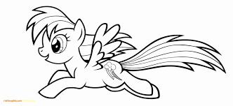 Flying Rainbow Pony Kleurplaat In Kleurplaat My Little Pony Rainbow