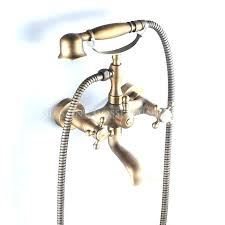 faucet shower attachment bathtub with spout brass classic wall mount mixer tap square tub