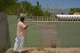 painting concrete block exterior walls creative on exterior intended for concrete wall paint nrys info 10